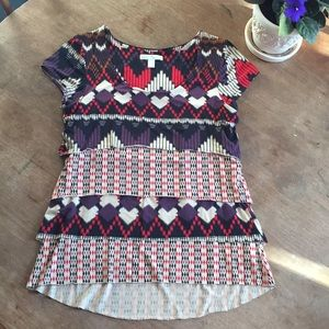 Anthropologie Weston Wear Calexico tiered top M